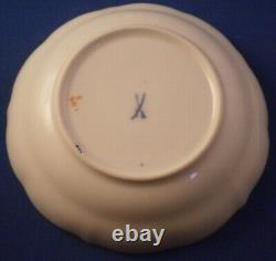 Vintage 20thC Meissen Porcelain A-Kante Demitasse Cup & Saucer Porzellan Tasse