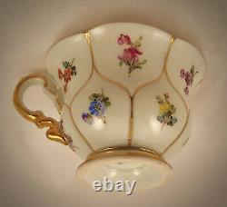 Vintage Meissen Demitasse/ Mocha Cup & Saucer