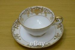 Vintage Noritake #175 Nippon China Demitasse Tea cups Saucer Set Cream Sugar