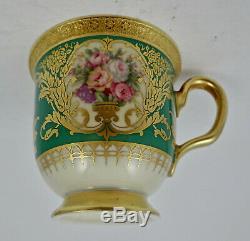 Vintage Rosenthal Demitasse Cup & Saucer, Roses