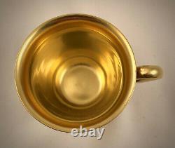 Vintage Rosenthal Demitasse/Espresso Cup & Saucer, Richly Gilded