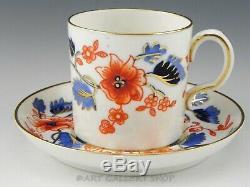Vintage Royal Crown Derby England BEAUMONT IMARI DEMITASSE 8 CUPS & 11 SAUCERS