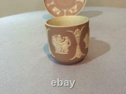 Wedgwood lilac jasper dipped demitasse cup and saucer Wedgwood England
