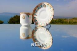 White Star Line Rms Olympic Titanic 1st CL Wisteria Variant Demitasse Cup Saucer