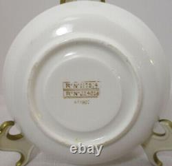 White Star Line Rms Olympic Titanic Era 1st CL Demitasse Cup & Saucer 1906-1907