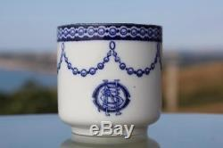 White Star Line Rms Olympic Titanic Era Pattern Bradford Demitasse Cup & Saucer